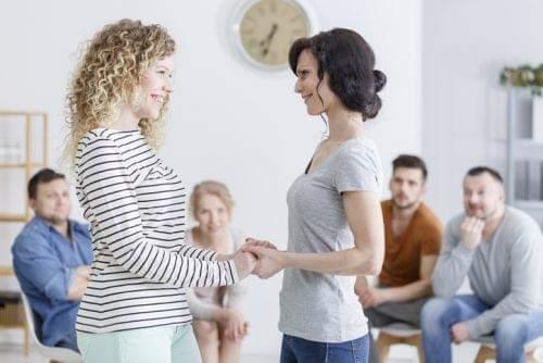 Woman on Alcohol Rehab Programme